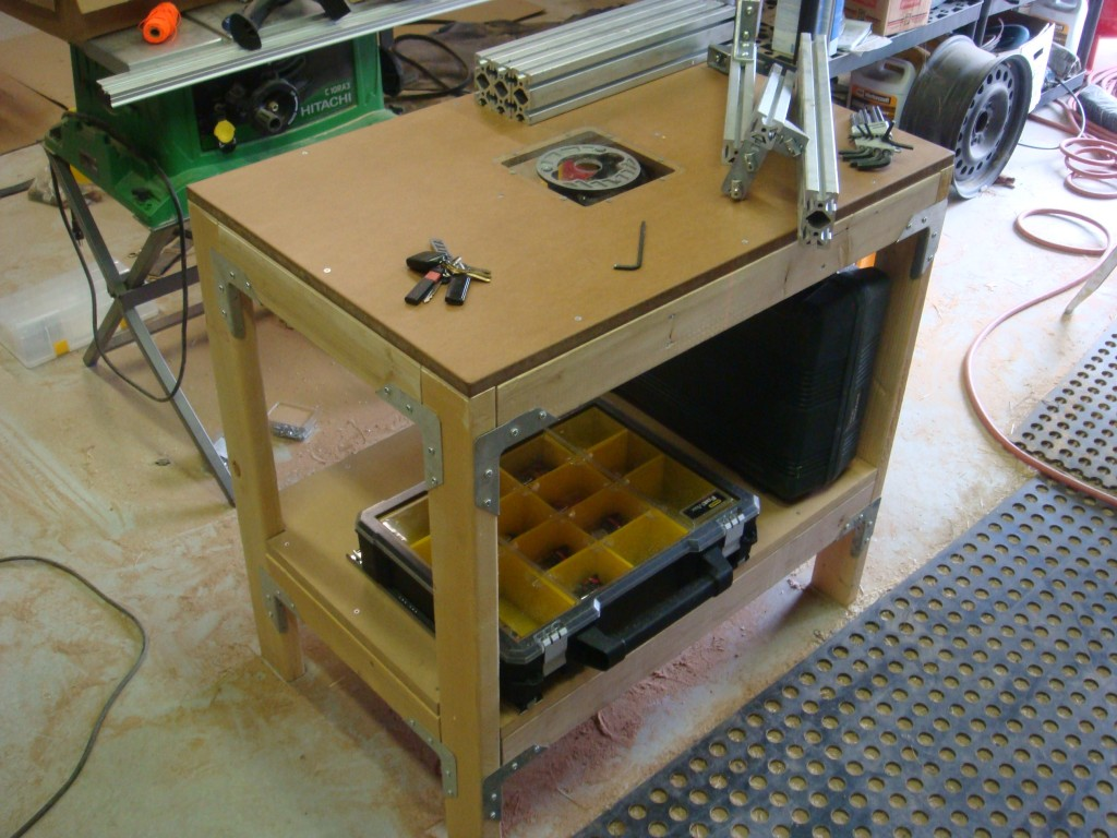 build router table top